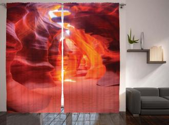 Sunbeam Antelope Canyon Curtain