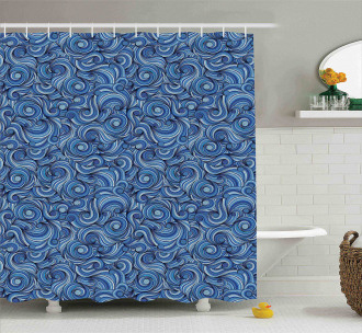 Artistic Zentangle Exotic Shower Curtain