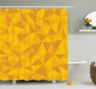 Abstract Mosaic Design Shower Curtain