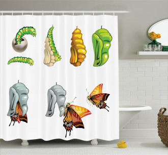 Cocoon Nature Cycle Shower Curtain