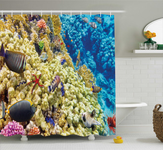 Sea Exotic Natural View Shower Curtain