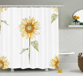 Minimalistic Artwork Shower Curtain