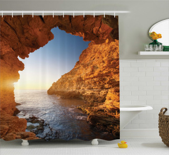 Sunset Pacific Paradise Shower Curtain