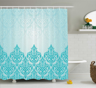 European Victorian Design Shower Curtain