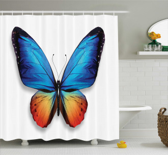 Cycle of Life Theme Shower Curtain