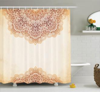 Oriental Vintage Art Shower Curtain