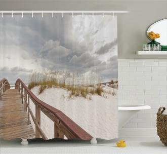 Tropical Gulf Island Shower Curtain