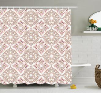 Ancient Geometrical Shower Curtain