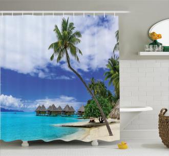 Island Pasific Ocean Shower Curtain