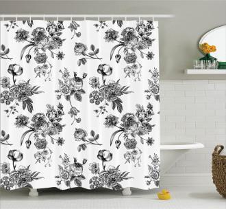 New Modern Art Shower Curtain