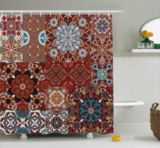 Victorian Mandala Shower Curtain
