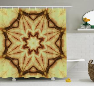 Mandala Grunge Ethnic Shower Curtain