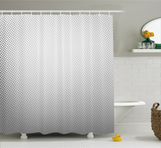 Soft Dots and Spots Shower Curtain