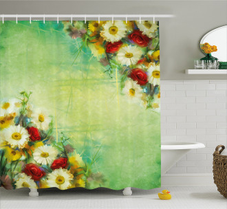 Freshening Mother Earth Shower Curtain