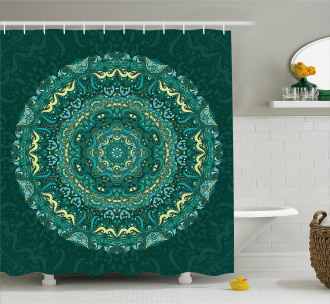 Eastern Mandala Shower Curtain