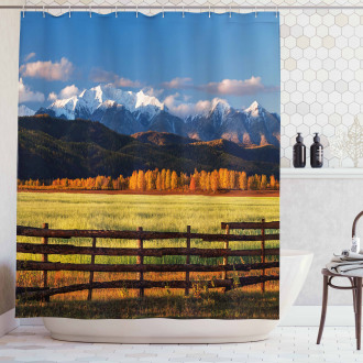 Nature Valley Forest Shower Curtain