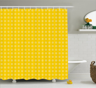 Daisies Florals Flowers Shower Curtain
