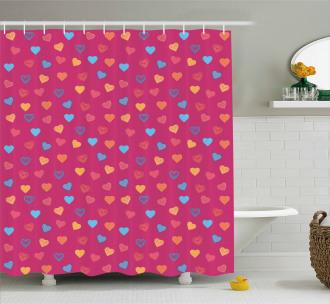 Valentine Days Lovers Shower Curtain