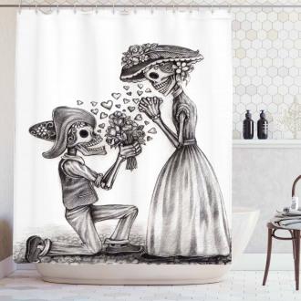 Mariage Festive Shower Curtain
