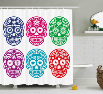 Mexican Festival Shower Curtain