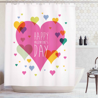 Quote Love Romance Shower Curtain