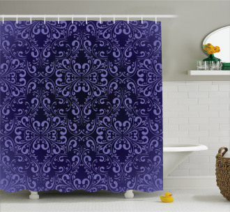 Royal Victorian Pattern Shower Curtain