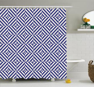 Symmetrical Pattern Shower Curtain