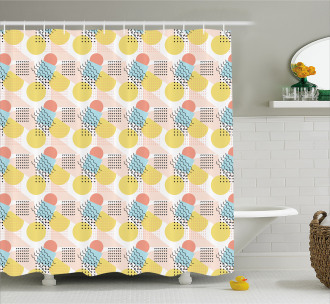 Unusual Trippy Lines Shower Curtain