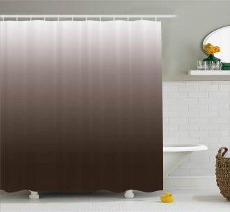 Digital Chocolate Shower Curtain