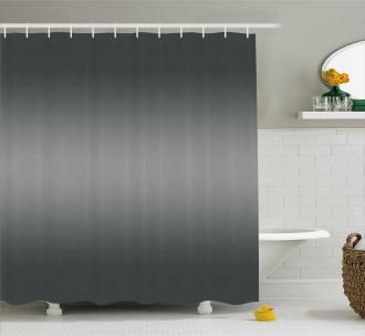 Grey Smoke Fume Design Shower Curtain
