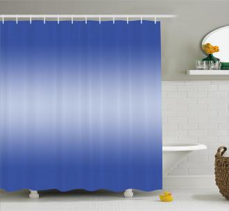 Sunset Evening Scene Shower Curtain