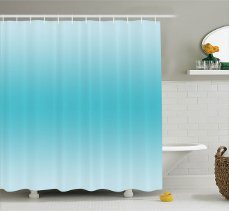 Tropical Aquatic Print Shower Curtain