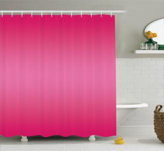 Modern Pink Room Design Shower Curtain