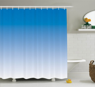 Skyscape for Blue Lovers Shower Curtain