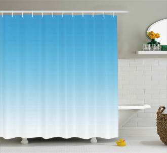Spring Landscape Print Shower Curtain