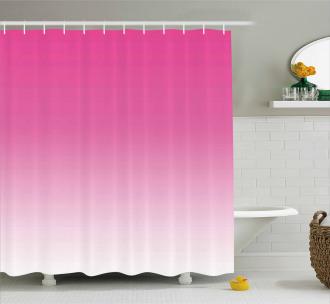 Digital Hot Pink Design Shower Curtain