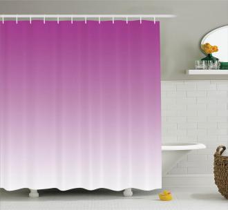 Romantic Modern Flowers Shower Curtain