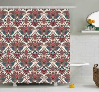 Oriental Ethnic Persian Shower Curtain