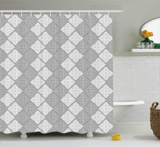 Victorian Oriental Retro Shower Curtain