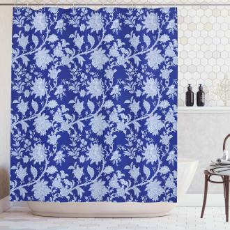 Paisley Pattern Ottoman Shower Curtain
