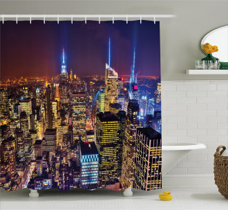 Fourth of July Day USA Shower Curtain