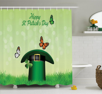 Irish Hat Charm Shower Curtain