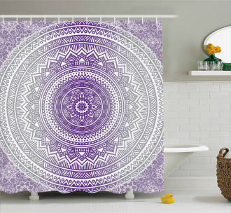 Zen Boho Ombre Shower Curtain