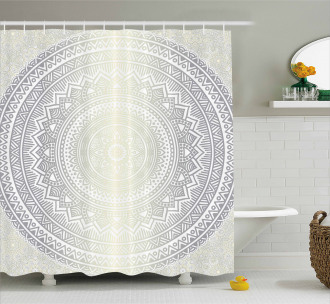 Boho Ombre Retro Shower Curtain