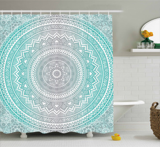 Tribe Mandala Zen Shower Curtain