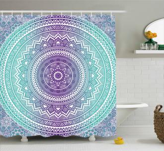 Hippie Mandala Shower Curtain