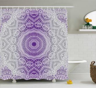 Mandala Hippie Shower Curtain