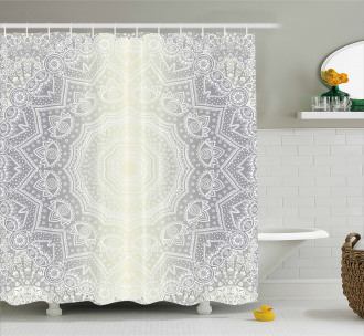 Ethnic Ombre Shower Curtain