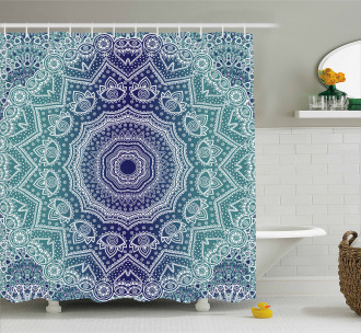 Ombre Tribe Shower Curtain