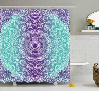 Ornate Hippie Shower Curtain